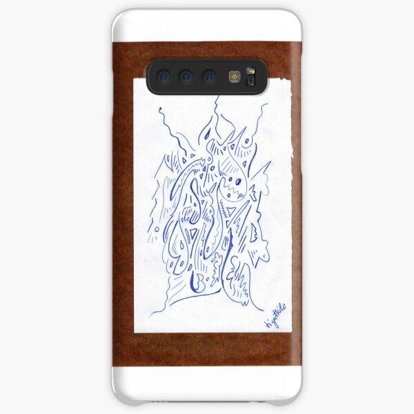 0903 - Brown Samsung Galaxy Leichte Hülle