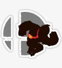 Donkey Kong - Sunset Shores Sticker