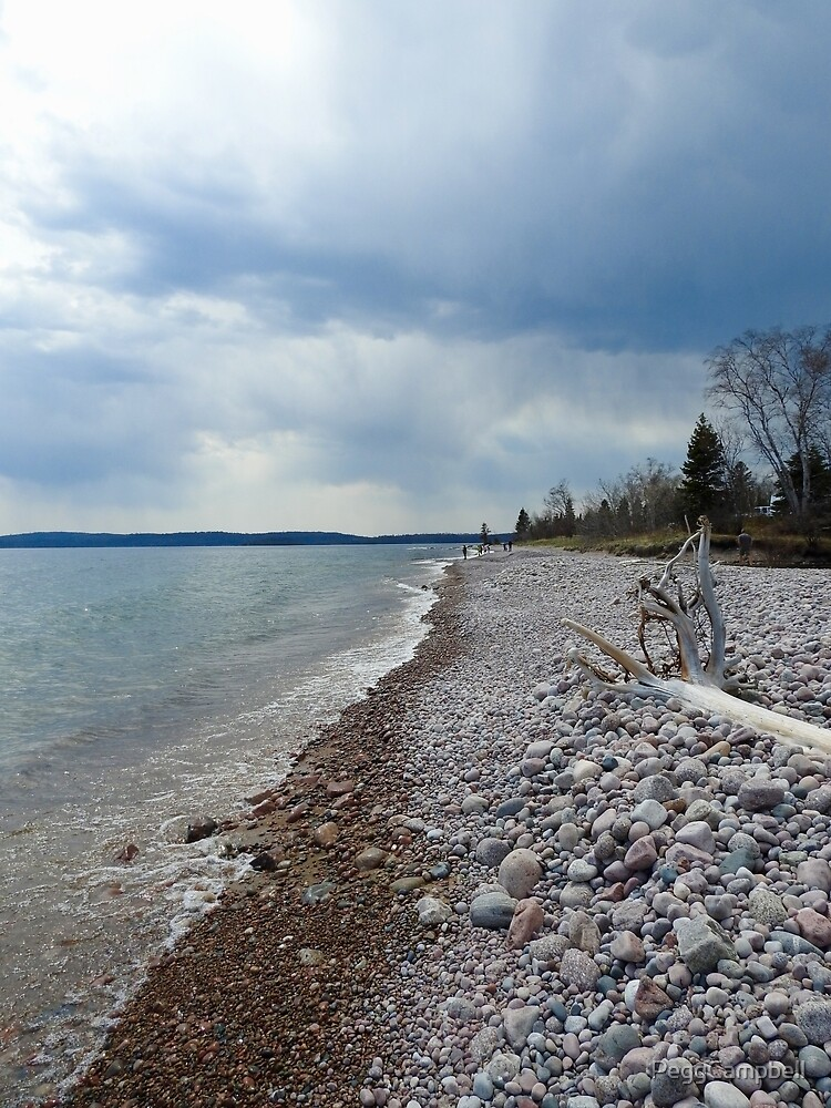 McLean's Creek, Lake Superior by PeggCampbell
