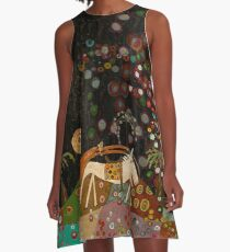 Wild Horse of Chaos Oasis A-Line Dress