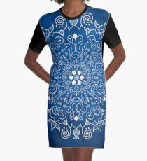 Mandala Blue Robe t-shirt