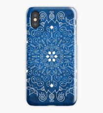 Mandala Blue iPhone Case/Skin