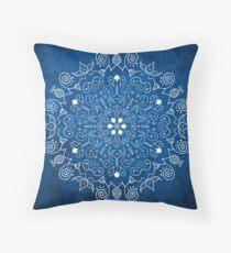 Mandala Blau Dekokissen