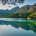 Evening at Embalse de Guadalest by Ralph Goldsmith