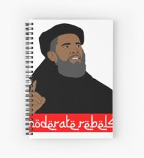 Obama ''moderate rebels'' shirt Spiral Notebook