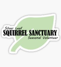 Silver leaf squirrel sanctuary: seasonal volunteer Sticker