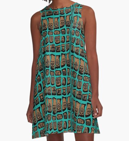 Wild Women Aint got no Blues A-Line Dress