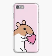 Sweet Ratty Valentine  iPhone Case/Skin