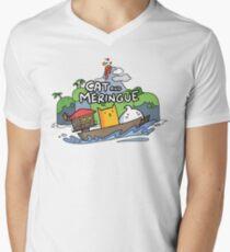 Cat and Meringue Men's V-Neck T-Shirt