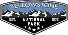 YELLOWSTONE NATIONAL PARK WYOMING MOUNTAINS HIKING CAMPING CLIMBING EXPLORE CAMPER by MyHandmadeSigns