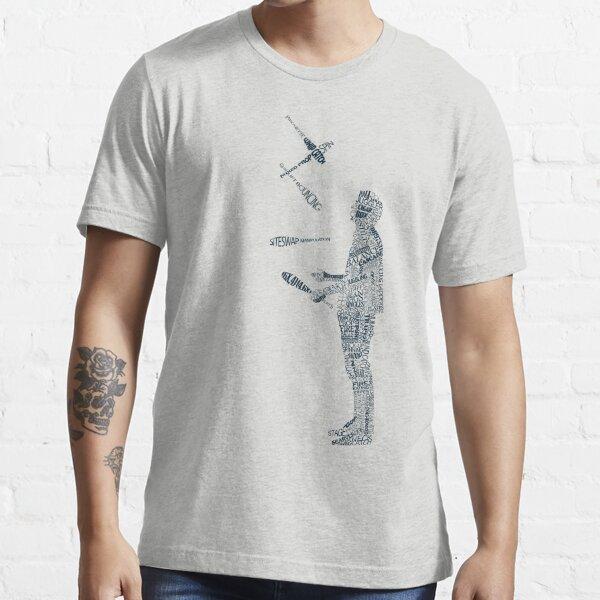 Tshirt - Juggling Typology  Essential T-Shirt