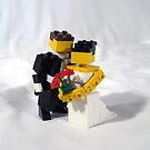 LEGO bride & groom by Sean Kenney