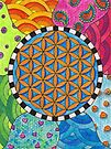 Flower of Life - Spring Days by Carrie Dennison