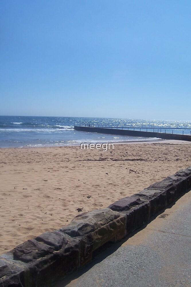 beach pool by meegn