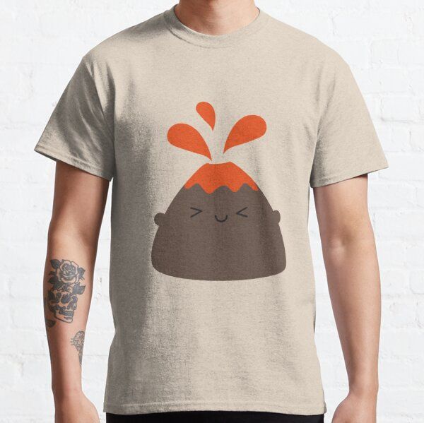 Happy Kawaii Volcano Classic T-Shirt