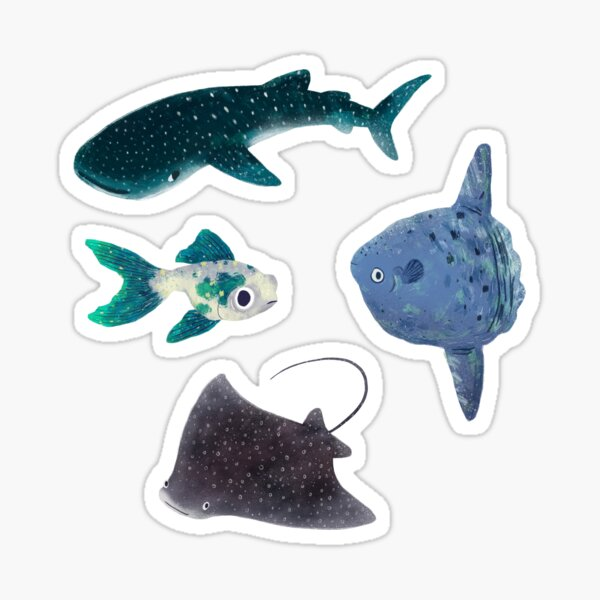 Fishy Sticker Pack Sticker