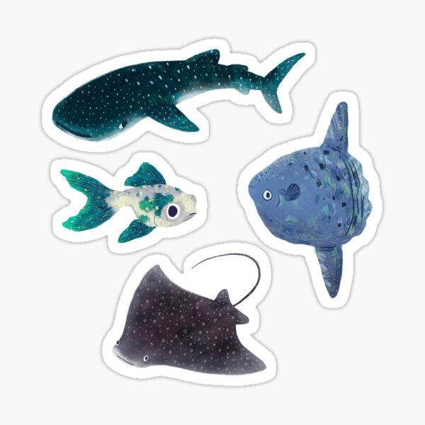 Fishy Sticker Pack Sticker