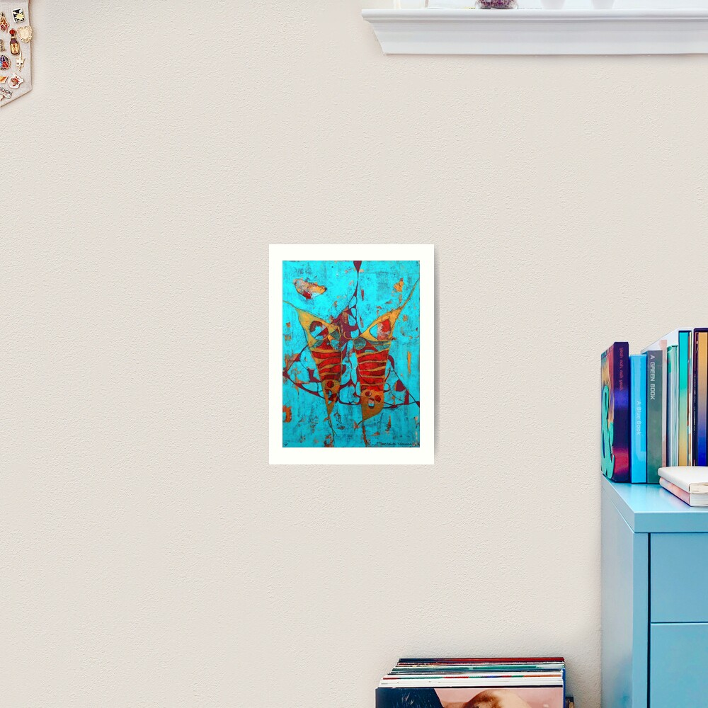 The Birth of the Butterfly Art Print