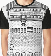 Pokemon Gameboy In Game Screen Graphic T-Shirt