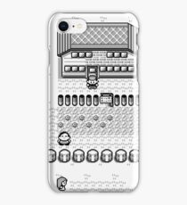 Pokemon Gameboy In Game Screen iPhone Case/Skin