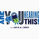 Are You Hearing This Logo (Horizontal) by AYHTpodcast