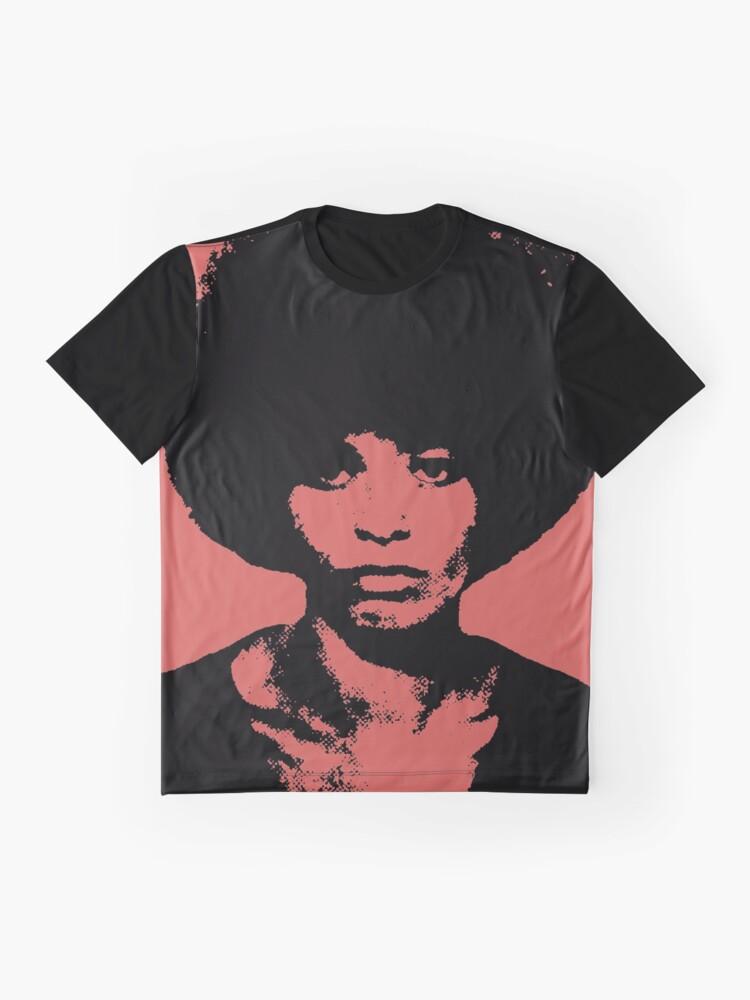 Alternative Ansicht von ANGELA DAVIS Grafik T-Shirt