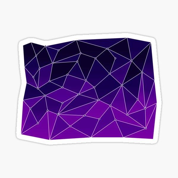 Purple Firmament Sticker