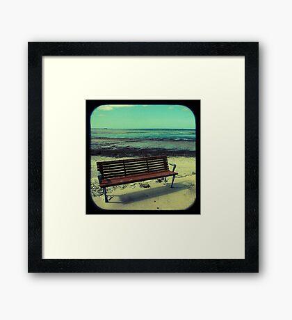 Sit Framed Print