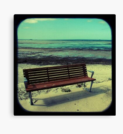Sit Canvas Print