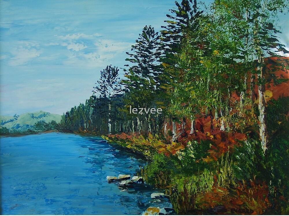 Oil Painting - Loweswater by lezvee