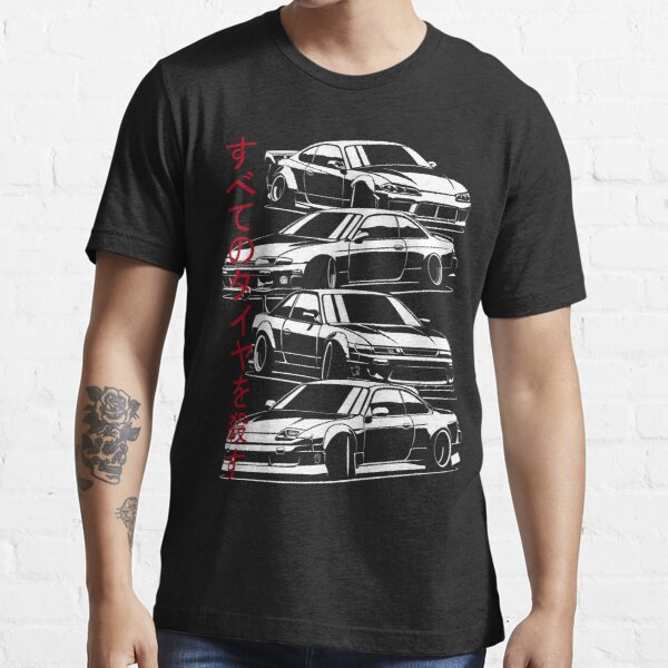 Kill all tires. Silvia S13, S14, S15  Essential T-Shirt