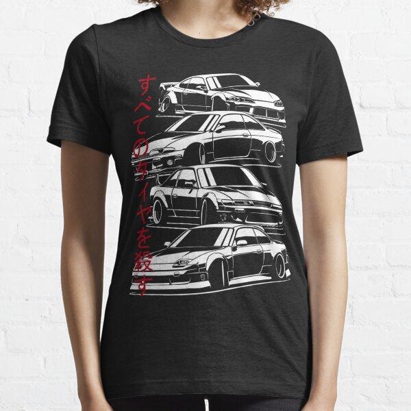 Kill all tires. Silvia S13, S14, S15  Essential T-Shirt