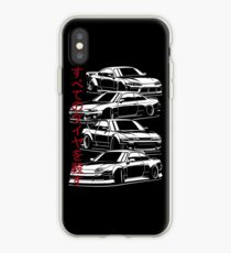 Kill all tires. Silvia S13, S14, S15  iPhone Case