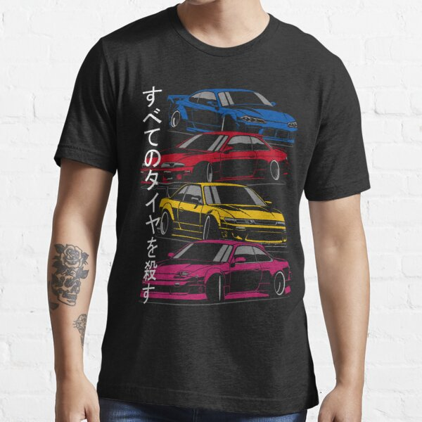 Kill all tires. Silvia S13, S14, S15 (color) Essential T-Shirt