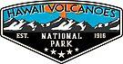 HAWAII VOLCANOES NATIONAL PARK VOLCANO HIKING NATURE EXPLORE CAMPER by MyHandmadeSigns