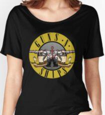guns n ships Women's Relaxed Fit T-Shirt