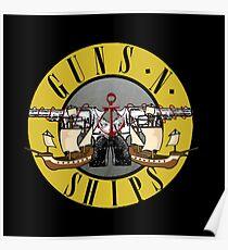 guns n ships Poster