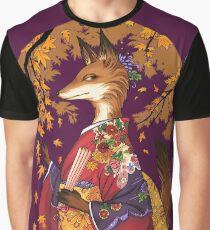 Maple Kitsune Graphic T-Shirt