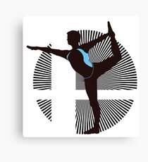 Wii Fit Trainer (Male) - Sunset Shores Canvas Print