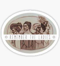 American Ladies Sticker
