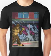 Bigfoot with a Taco Unisex T-Shirt