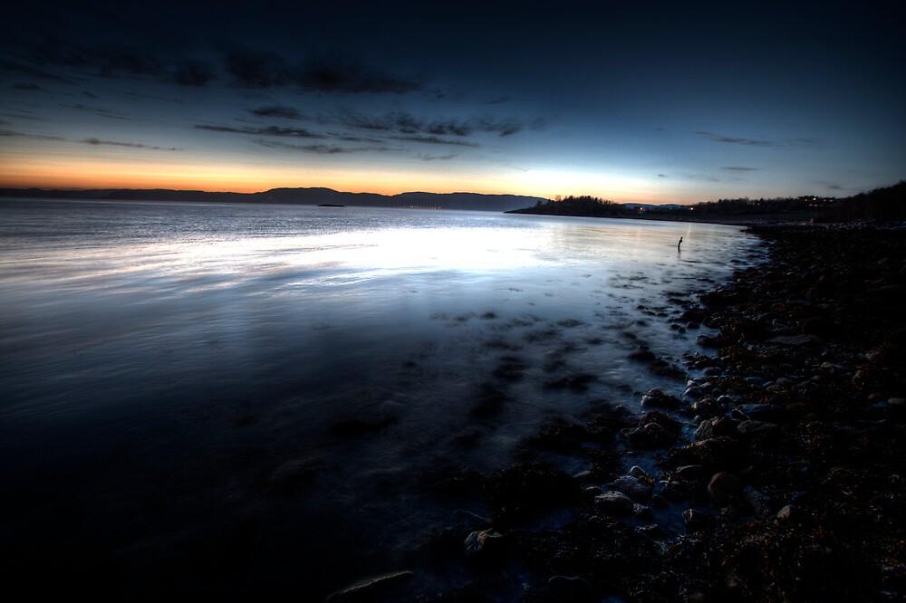 Sunset by Bjørn Hovland Børve