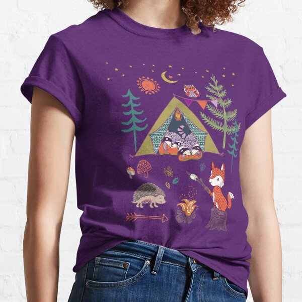 Woodland Animals Campout Classic T-Shirt