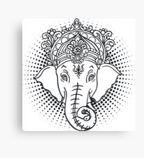 Iconic Hindu Ganesh Canvas Print