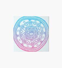 Lámina de exposición Diseño rosado y azul de Ombre