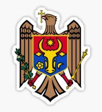 Moldova coat of arms Sticker