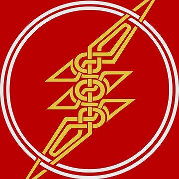 Norse Lightning by lewckuss