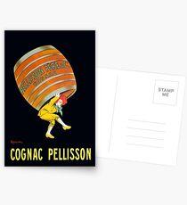 Vintage Cognac Pellisson Advertisement Postcards