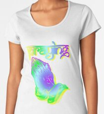"Kesha ""Praying"" Women's Premium T-Shirt"