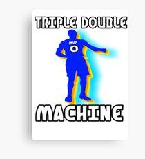 Triple Double Machine Canvas Print